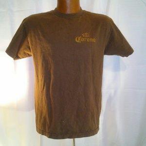 Corona Extra Women's Brown T-shirt Medium